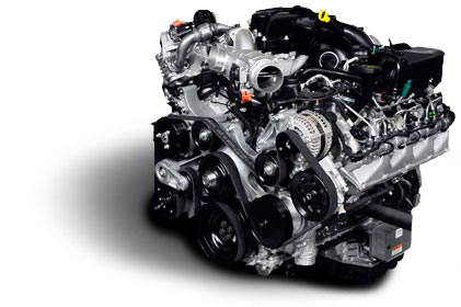 Ford 6.7 Turbo Diesel Power Stroke Engine