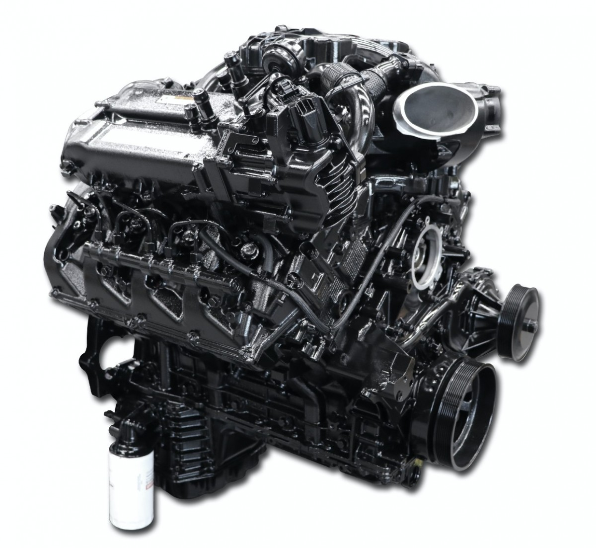Ford 6.7L Scorpion Running Complete Diesel Engine
